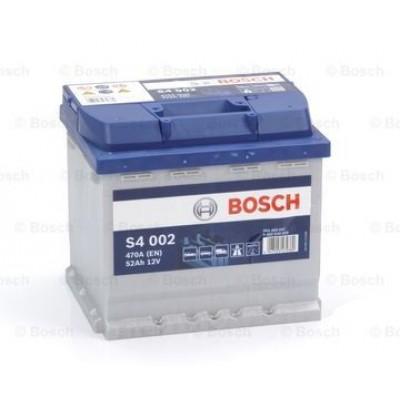 Акумулатор BOSCH S4 002 52Ah 470A