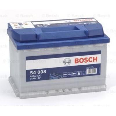 Акумулатор BOSCH S4 008 74Ah 680A