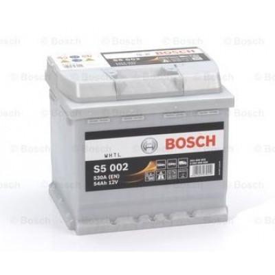 Акумулатор BOSCH S5 002 54Ah 530A