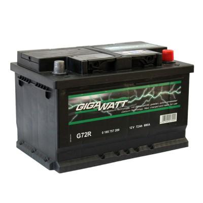 Акумулатор Gigawatt 72Ah