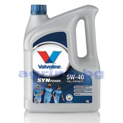 5W-40 VALVOLINE SYNPOWER 4L