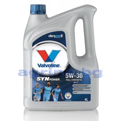 5W-30 VALVOLINE SYNPOWER MST C3 4L